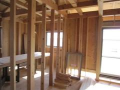 町田市S邸、木工事中です
