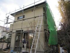 横浜市O邸、仕上工事