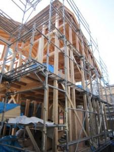 葉山町T邸、屋根工事
