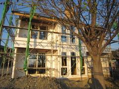 横須賀市M邸、木工事