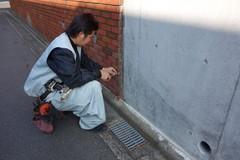 横浜市K2邸、基礎工事