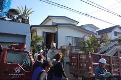 横浜市Y邸、解体と地鎮祭