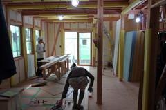 横浜市K2邸、木工事完了