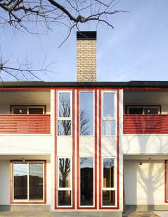 太陽の光と緑景を楽しむ家