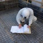 耐火木造の基礎配筋